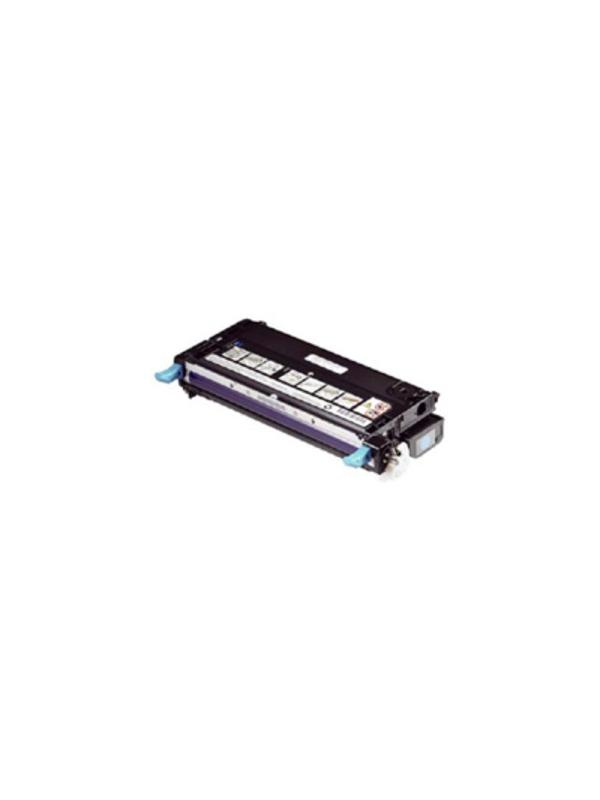593-10369 - DELL 2145 2145CN CYAN - Cartucho reciclado - compatible alta capacidad 5.000 páginas con una cobertura por página de 5%.Cartucho toner compatible con DELL 2145 2145CN