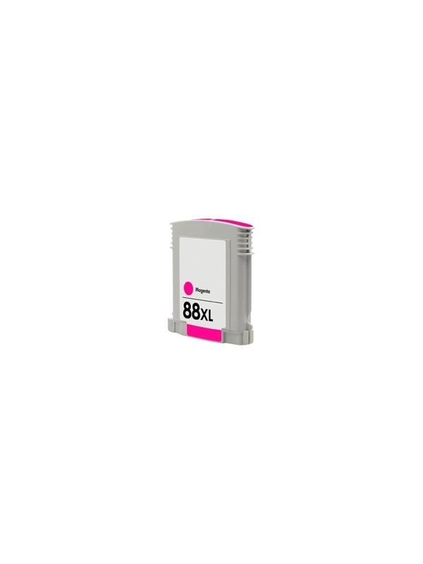 HP 88XL Magenta C9387AE / C9392AE Remanufacturado  - HP 88XL Magenta C9387AE / C9392AE Remanufacturado  . Capacidad 35 ml. Compatible con  HP Officejet Pro L7755 HP Officejet Pro L7760 HP Officejet Pro K5300 HP Officejet Pro K5400 HP Officejet Pro K5400dn HP Officejet Pro K5400dtn HP Officejet Pro K5400n HP Officejet Pro K5400tn HP Officejet Pro K550 HP Officejet Pro K550dtn HP Officejet Pro K550dtwn HP Officejet Pro K550tn HP Officejet Pro K550twn HP Officejet Pro K8600 HP Officejet Pro K8600dn HP Officejet Pro L7480 HP Officejet Pro L7580 HP Officejet Pro L7590 HP Officejet Pro L7680 HP Officejet Pro L7780 HP Officejet Pro L7810 HP Officejet Pro L7825 HP Officejet Pro L7848