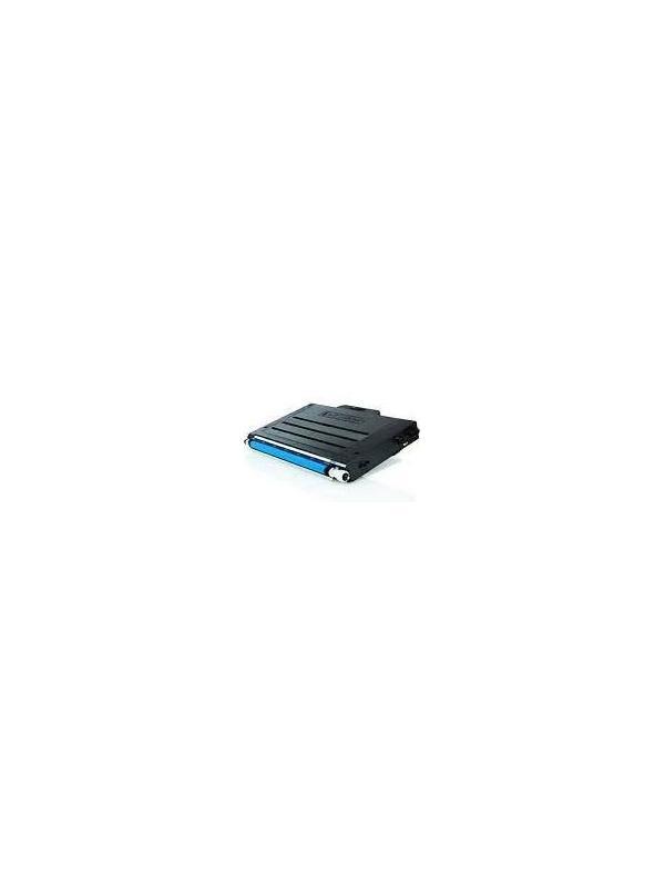 Samsung CLP 500 500A 500G 500N 500NA 500R CLP 550 550G 550N CYAN - Cartucho toner remanufacturado compatible CYAN alta capacidad 5.000 páginas con una cobertura por página de 5%. Samsung CLP 500 500A 500G 500N 500NA 500R CLP 550 550G 550N CYAN
