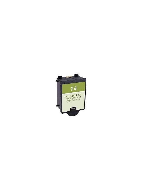 HP 14 C5010DE Tricolor remanufacturado - Cartucho de tinta HP 14 C5010DE Tricolor remanufacturado. Capacidad 24ml ml. Compatible con COLOR INKJET CP 1160 DIGITAL COPIER 610 OFFICEJET 7110 OFFICEJET 7115 OFFICEJET 7130 OFFICEJET 7135 OFFICEJET 7140 OFFICEJET D 125XI OFFICEJET D 135 OFFICEJET D 145 OFFICEJET D 155XI