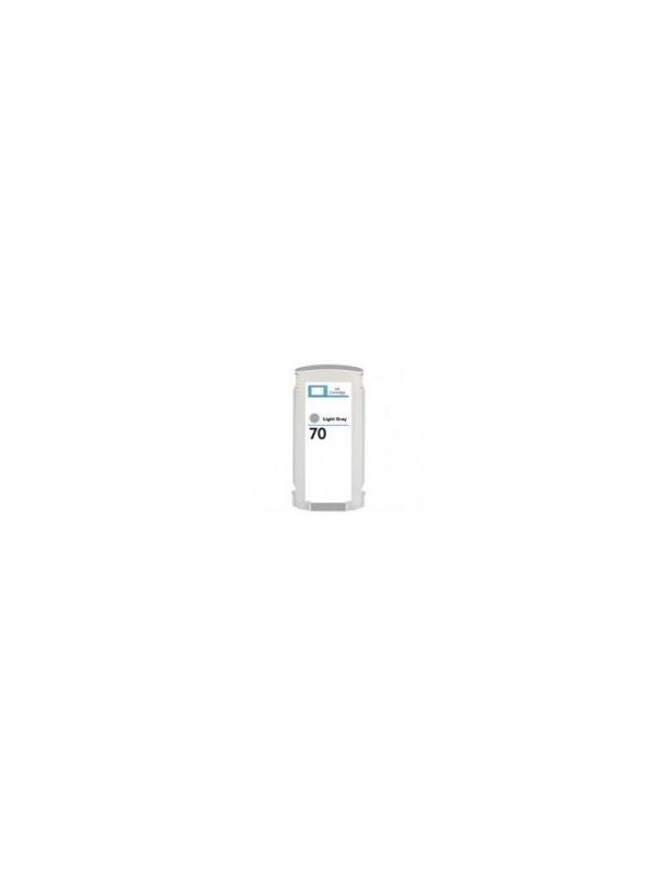 Hp 70 (C9451A) Gris Claro Remanufacturado - Hp 70 (C9451A) Gris Claro Remanufacturado. Cartucho tinta remanufacturado 130ml compatible con impresoras DesignJet Z 2100  DesignJet Z 3100 DesignJet Z 3200  DesignJet Z 5200 DesignJet Z 5400 PostScript ePrinter