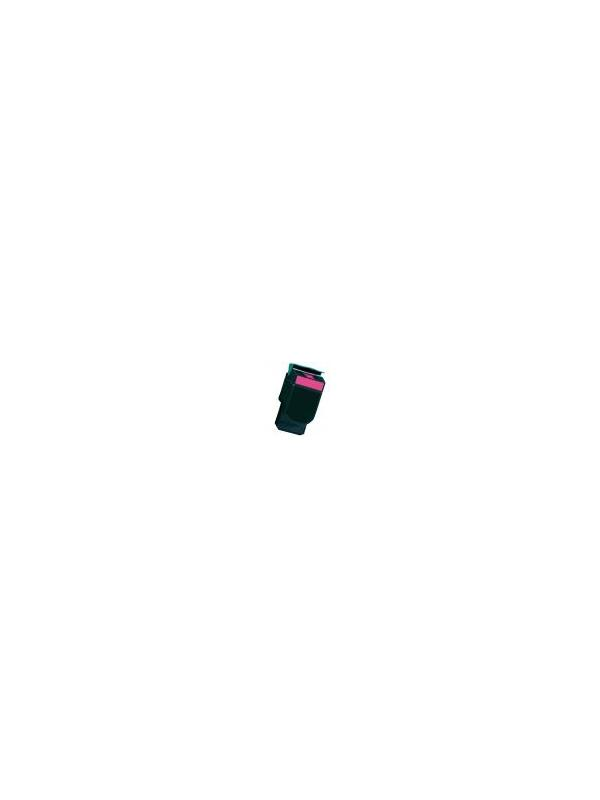 70C2HM0 / 702HM ---- LEXMARK CS310 / CS410 / CS510 Magenta - Cartucho reciclado 70C2HM0 / 702HM - compatible alta capacidad 3.000 páginas con una cobertura por página de 5%. Cartucho toner compatible con Lexmark CS 310n CS 310dn CS 410n CS 410dn CS 410dtn CS 510de CS 510dte Magenta