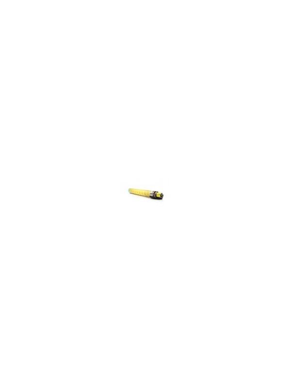 RICOH AFICIO SP-C830DN / SP-C831DN YELLOW - Cartucho remanufacturado alta capacidad 27.000 páginas con una cobertura por página de 5%. Cartucho toner compatible con impresoras RICOH AFICIO SP-C830DN / SP-C831DN YELLOW