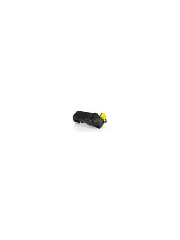 XEROX PHASER 6140 / 6140DN / 6140N YELLOW - Cartucho reciclado - compatible alta capacidad 2.000 páginas con una cobertura por página de 5%. Cartucho toner compatible con XEROX PHASER 6140 / 6140DN / 6140N YELLOW