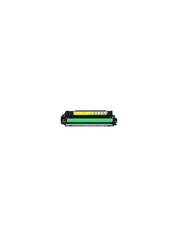 CE742A - HP CP5225 YELLOW - CE742A. Cartucho Toner Compatible - Reciclado CE742A 7.300 páginas. Compatible con impresoras HP cp5225 cp5225n cp5225dn