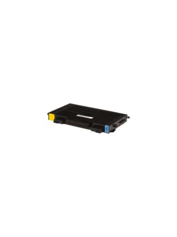 CLP-510D5C - Samsung CLP510 CLP510N CYAN - CLP-510D5C. Cartucho toner remanufacturado CYAN alta capacidad 5.000 páginas con una cobertura por página de 5%. Samsung CLP510 CLP510N