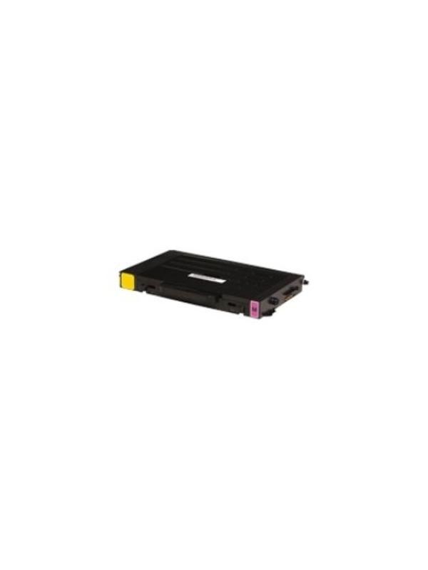 CLP-510D5M - Samsung CLP510 CLP510N MAGENTA - CLP-510D5M. Cartucho toner remanufacturado MAGENTA alta capacidad 5.000 páginas con una cobertura por página de 5%. Samsung CLP510 CLP510N