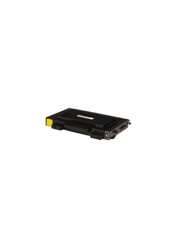 CLP-510D7K - Samsung CLP510 CLP510N BLACK - CLP-510D7K. Cartucho toner remanufacturado BLACK alta capacidad 7.000 páginas con una cobertura por página de 5%. Samsung CLP510 CLP510N