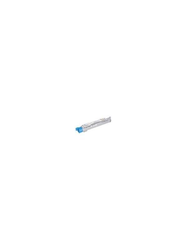 Epson Aculaser C4200 CYAN - Cartucho remanufacturado alta capacidad 8.000 páginas con una cobertura por página de 5%. Cartucho toner compatible con impresoras Epson Aculaser C4200
