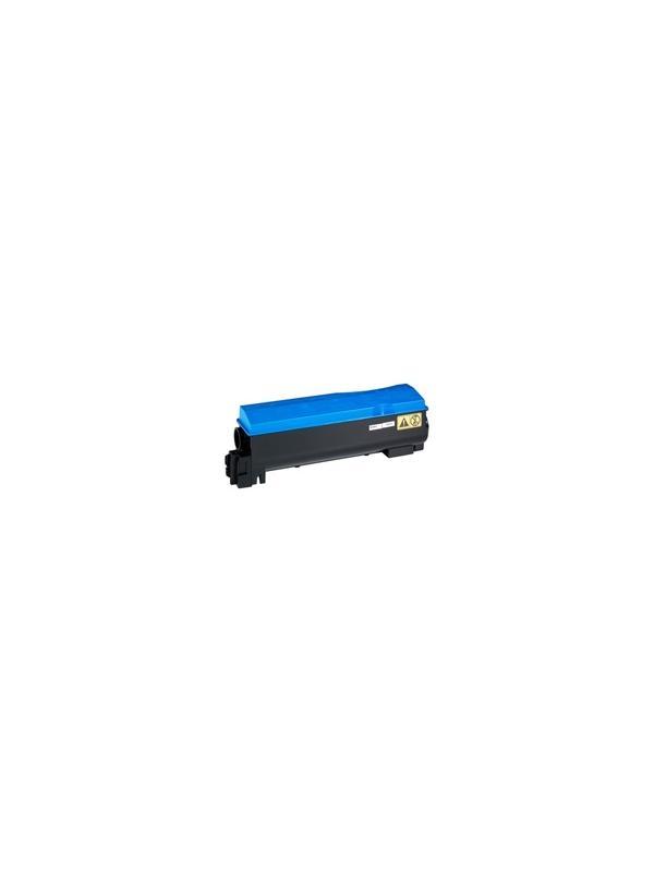 TK-570BK KYOCERA-MITA FS C5400 DN CYAN - Cartucho reciclado - compatible alta capacidad 12.000 páginas con una cobertura por página de 5%.Cartucho compatible con KYOCERA-MITA FS C5400 DN