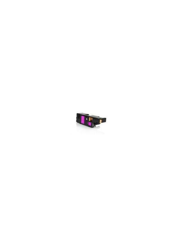 Epson aculaser c1700/CX17 Magenta - Cartucho remanufacturado alta capacidad 1.400 páginas con una cobertura por página de 5%. Cartucho toner compatible con impresoras Epson Aculaser C1700 / CX17 Magenta