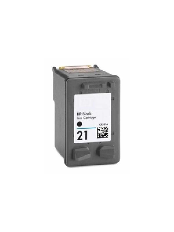 HP 21XL (C9351A) remanufacturado - Cartucho de tinta remanufacturado. Capacidad 18 ml. Compatible con HP Deskjet 3910/3920/3930/3930v/3940/3940v; PSC 1400/1410/1410v/1410xi