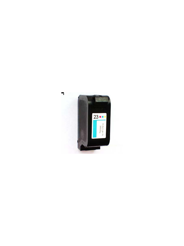HP 23 (1823C) remanufacturado - Cartucho de tinta remanufacturado. Capacidad 3x14 ml. Compatible con Hp deskjet 710c/720c/810c/ 830c/880c/890c/ 895cxi/1120c/1125cc;  HP Officejet R/T series/ pro1170c/1175c