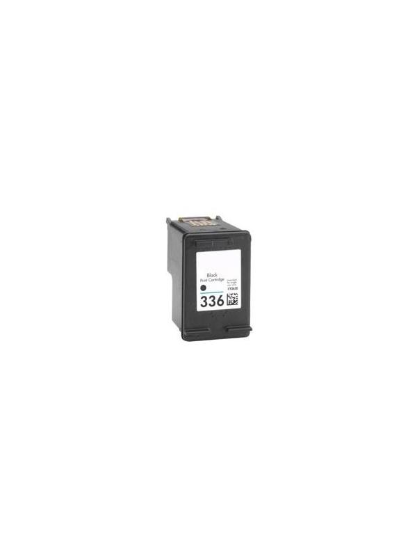 HP 336 Negro (C9362E) remanufacturado - Cartucho de tinta remanufacturado. Capacidad 8 ml. Compatible con HP PSC 1510,Photosmart 2575,2570,7800 series,7850, OfficeJet 6300,6310,6310xi,6313,