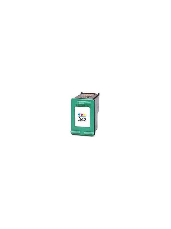 HP 342 Tricolor (C9361E) remanufacturado - Cartucho de tinta remanufacturado. Capacidad 3x4 ml. Compatible con HP PSC 1510,Photosmart 2575,2570,7800 series,7850, OfficeJet 6300,6310,6310xi,6313,