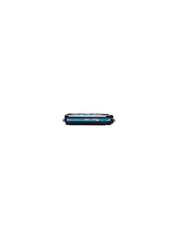 Q2681A - HP 3700 CYAN - Cartucho Toner Compatible - Reciclado Q2681A cyan alta capacidad 6.000 páginas. Compatible con impresoras HP 3700 3700n 3700d 3700dn 3700dtn