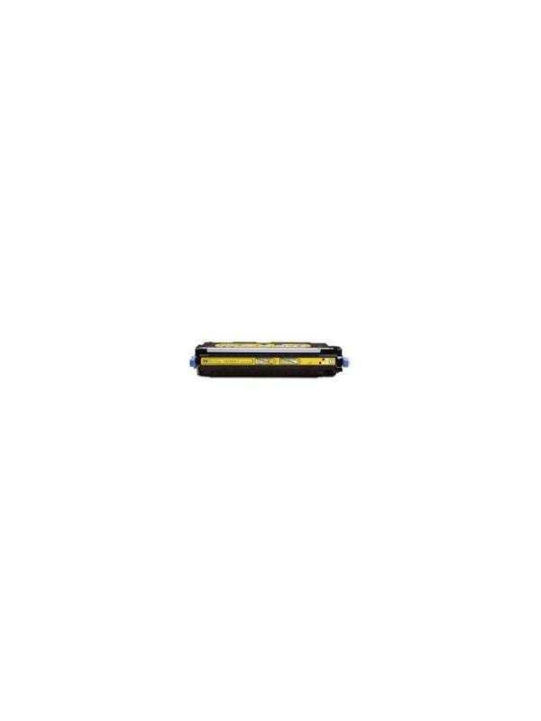 Q2682A - HP 3700 YELLOW - Cartucho Toner Compatible - Reciclado Q2682A amarillo alta capacidad 6.000 páginas. Compatible con impresoras HP 3700 3700n 3700d 3700dn 3700dtn