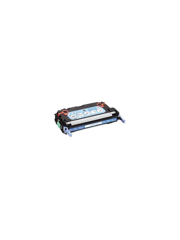 Q7581A - HP 3800 3505 CYAN - Q7581A. Cartucho Toner Compatible - Reciclado Q7581A alta capacidad 6.000 páginas. Compatible con impresoras HP 3800 3800n 3800dn 3800dtn cp3505 cp3505n cp3505dn cp3505x