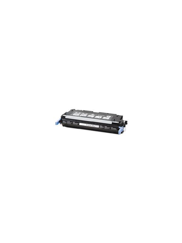 Q6470A - HP 3600 3800 3505 BLACK - Q6470A. Cartucho Toner Compatible - Reciclado Q6470A alta capacidad 6.000 páginas. Compatible con impresoras HP 3600 3600n 3600dn 3800 3800n 3800dn 3800dtn cp3505 cp3505n cp3505dn cp3505x