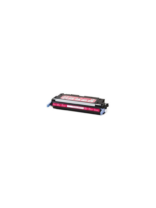 Q7583A - HP 3800 3505 MAGENTA - Q7583A. Cartucho Toner Compatible - Reciclado Q7583A alta capacidad 6.000 páginas. Compatible con impresoras HP 3800 3800n 3800dn 3800dtn cp3505 cp3505n cp3505dn cp3505x