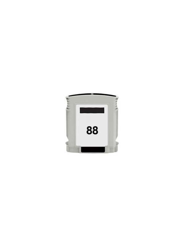 HP 88BK XL (C9396A) remanufacturado - Cartucho tinta remanufacturado compatible con Hp OfficeJet Pro K550/ K550dtn/ K550dtwn/ 5300/ K5400/ K5400dn/ K5400tn/ K5400dtn/ K8600 Hp OfficeJet Pro K8600dn L7550 L7580 L7590 L7650 L7680 L7750 L7780