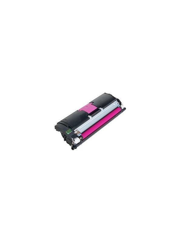 KONICA MINOLTA 2500 / 2530 / 2550 MAGENTA - Cartucho remanufacturado alta capacidad 4.500 páginas con una cobertura por página de 5%.