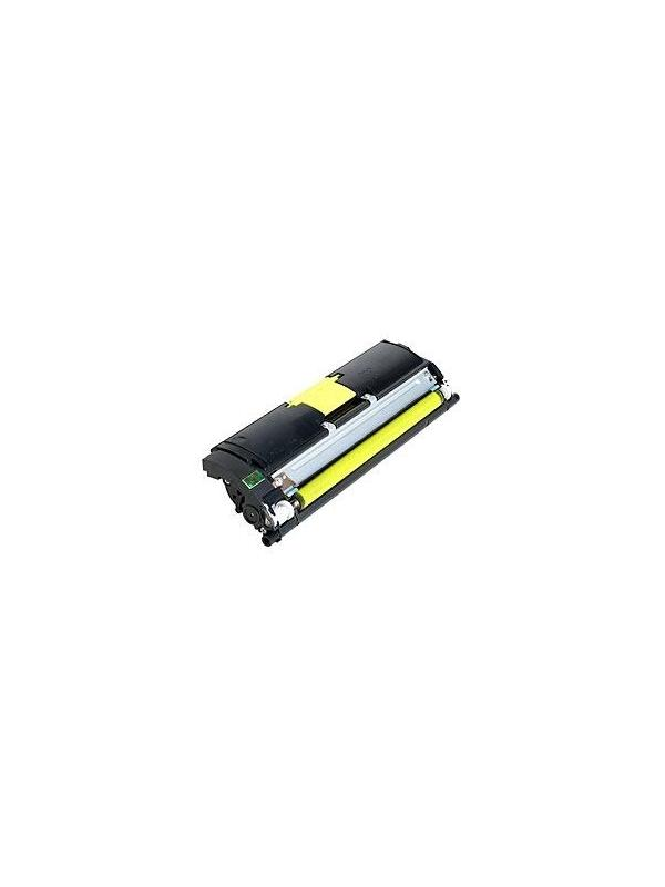 KONICA MINOLTA 2500 / 2530 / 2550 YELLOW - Cartucho remanufacturado alta capacidad 4.500 páginas con una cobertura por página de 5%.