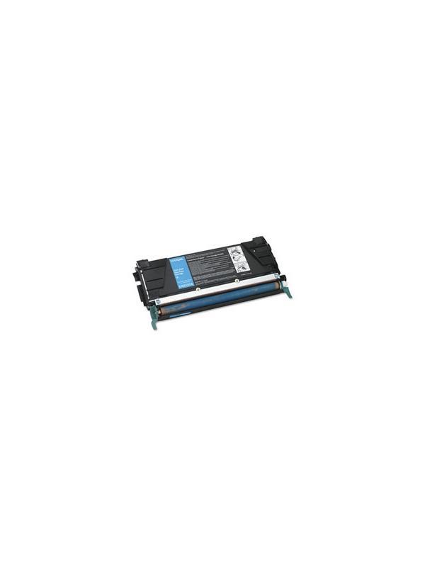 LEX-C5222CS - Lexmark C522N / 524 / 524N / 524DN / 524DTN / 524TN / 530DN / 532DN / 532N / 534 CYAN - Cartucho toner remanufacturado LEX-C5220CS  CYAN alta capacidad 3.000 páginas con una cobertura por página de 5%. Reciclado-compatible para impresoras LEX-C5222CS - Lexmark C522N / 524 / 524N / 524DN / 524DTN / 524TN / 530DN / 532DN / 532N / 534 CYAN