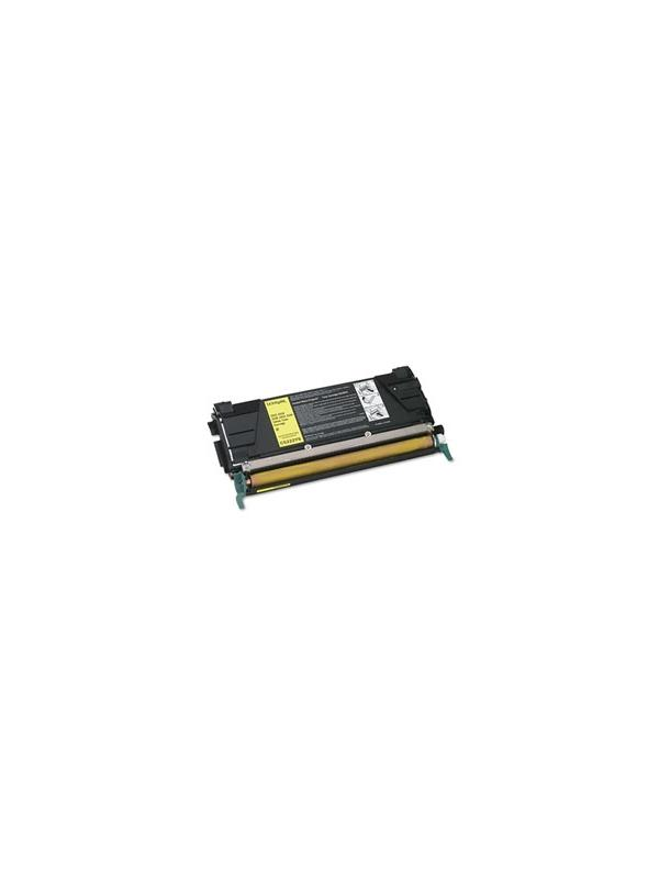 LEX-C5222YS - Lexmark C522N / 524 / 524N / 524DN / 524DTN / 524TN / 530DN / 532DN / 534 YELLOW - Cartucho toner remanufacturado LEX-C5220YS  YELLOW alta capacidad 3.000 páginas con una cobertura por página de 5%. Reciclado-compatible para impresoras LEX-C5222YS - Lexmark C522N / 524 / 524N / 524DN / 524DTN / 524TN / 530DN / 532DN / 532N / 534 YELLOW
