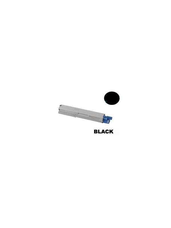 OKI MC350 MC360 BLACK - Producto fabricado en la Unión Europea.  El material utilizado para la fabricación de este cartucho, es de la marca Mitsubishi y tiene una excelente calidad de impresión. Se garantiza la durabilidad y protección tanto de la impresora como del tambor (Drum) Este producto tiene una garantía total de 2 años.   Cartucho remanufacturado alta capacidad 2.500 páginas con una cobertura por página de 5%. Cartucho toner compatible con impresoras OKI MC350 MC360