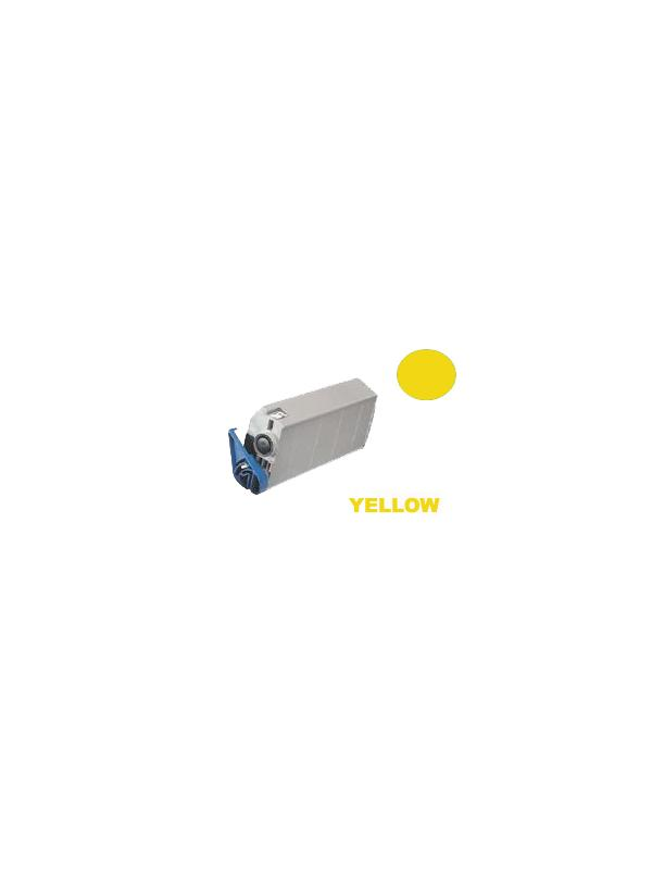 OKI 7100 / 7200 / 7300 / 7350 / 7400 / 7500 YELLOW - Cartucho remanufacturado alta capacidad 10.000 páginas con una cobertura por página de 5%.