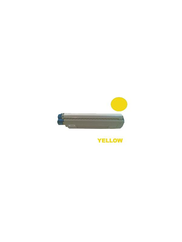 Toner OKI Executive ES8433dn YELLOW