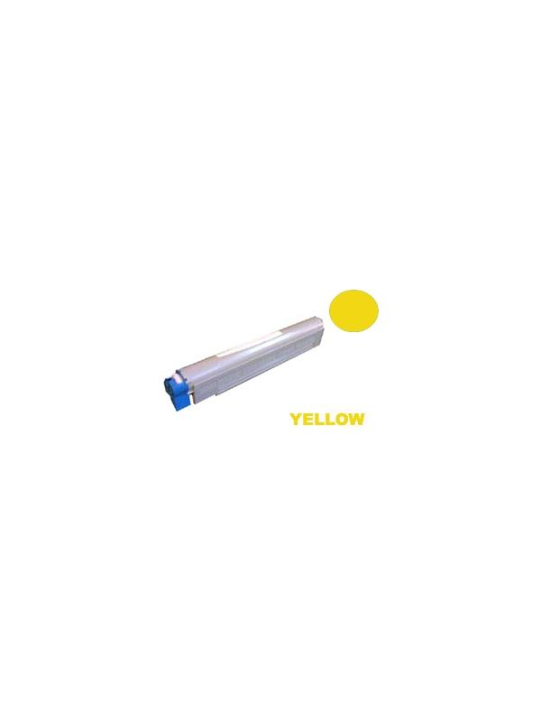 42918973 Intec XP2020 / XP2020PRO Yellow - Cartucho remanufacturado alta capacidad 16.500 páginas con una cobertura por página de 5%. Cartucho toner compatible con impresoras 42918973 Intec XP2020 / XP2020PRO Yellow