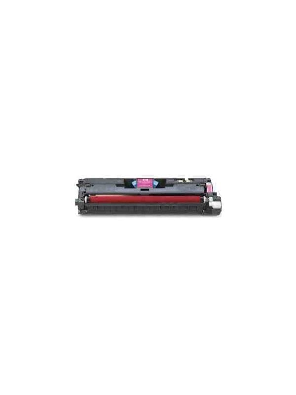 Q3963A - HP LASERJET COLOR 2550 L / 2550 LN / 2550 N / 2820 / 2840 MAGENTA - Cartucho toner remanufacturado Q3963A alta capacidad 4.000 páginas. Para impresoras HP LASERJET COLOR 2550 L / 2550 LN / 2550 N / 2820 / 2840.
