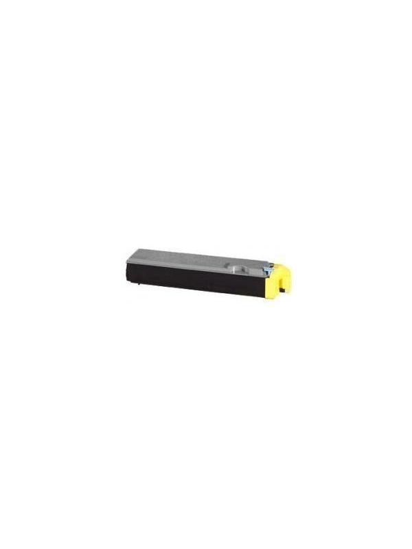 1T02HJAEU0 TK-520Y KYOCERA-MITA FS C5015N YELLOW - 1T02HJAEU0 Cartucho reciclado - compatible alta capacidad 4.000 páginas con una cobertura por página de 5%.Cartucho compatible 1T02HJAEU0 TK-520Y KYOCERA-MITA FS C5015N Yellow