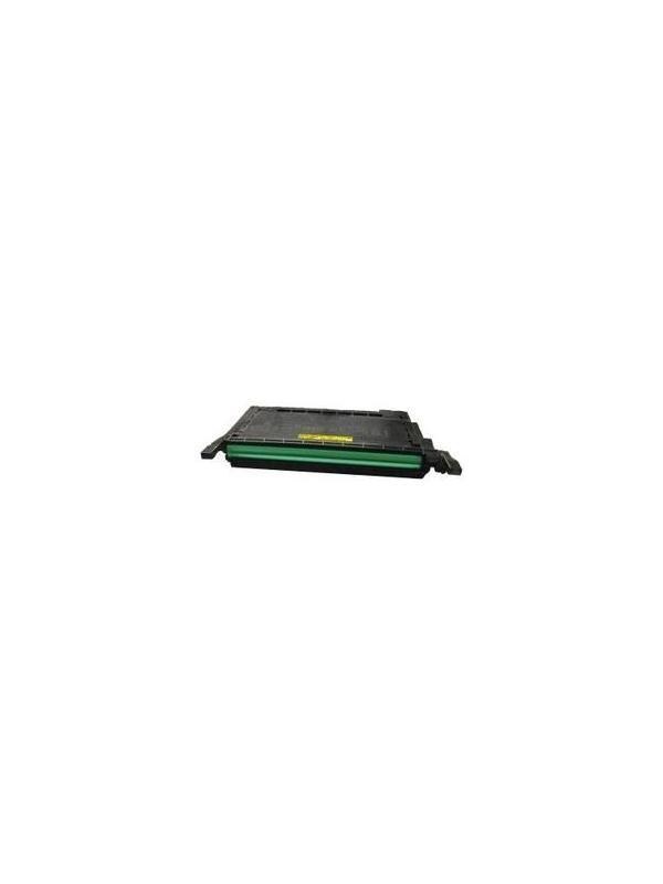 Samsung CLP620ND CLP670ND CLP670N CLX6220FX CLX6250FX YELLOW - Cartucho toner remanufacturado YELLOW alta capacidad 4.000 páginas con una cobertura por página de 5%. amsung CLP620ND CLP670ND CLP670N CLX6220FX CLX6250FX YELLOW