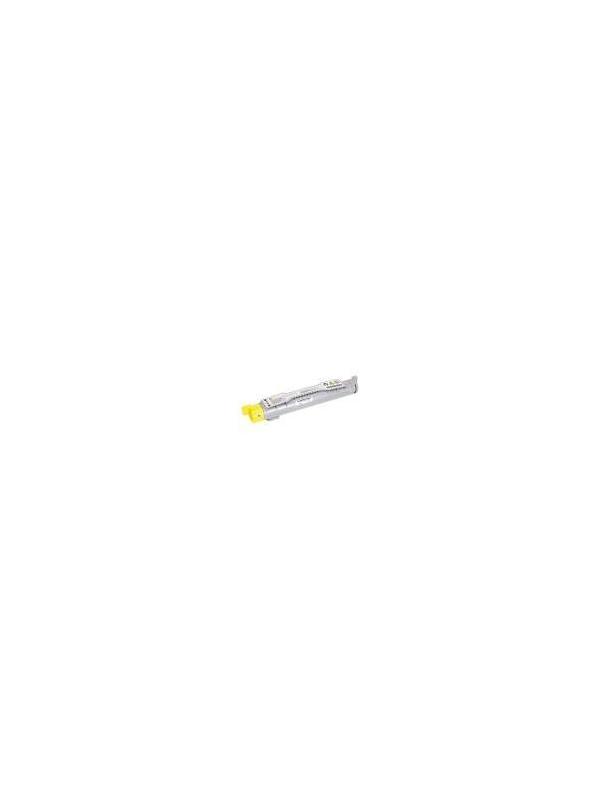 Epson Aculaser C4200 YELLOW - Cartucho remanufacturado alta capacidad 8.000 páginas con una cobertura por página de 5%. Cartucho toner compatible con impresoras Epson Aculaser C4200