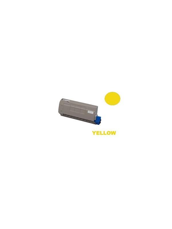 TOSHIBA T-FC34 Toner e-STUDIO 287cs/347cs/407cs YELLOW - Producto fabricado en la Unión Europea.  El material utilizado para la fabricación de este cartucho, es de la marca Mitsubishi y tiene una excelente calidad de impresión. Se garantiza la durabilidad y protección tanto de la impresora como del tambor (Drum) Este producto tiene una garantía total de 2 años.   Cartucho remanufacturado alta capacidad 12.000 páginas con una cobertura por página de 5%. Cartucho toner compatible con  impresoras 6000001525 - TOSHIBA T-FC34 Toner e-STUDIO 287cs/347cs/407cs YELLOW