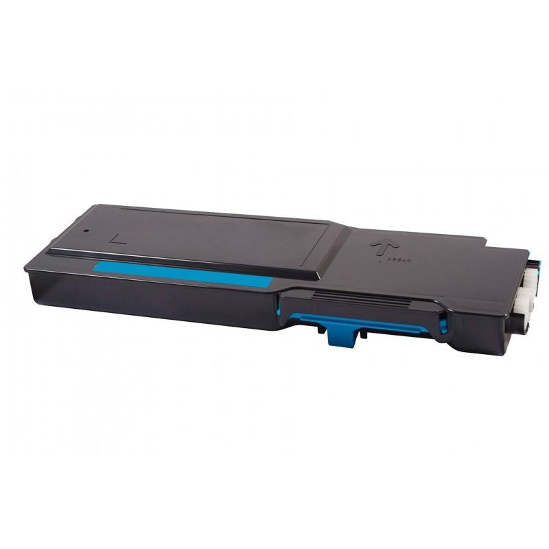 DELL S3840cdn / S3845cdn CYAN - Cartucho remanufacturado alta capacidad DELL S3840cdn / S3845cdn CYAN 9.000 páginas con una cobertura por página de 5%.