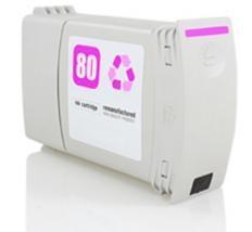 (C4847A)  HP 80 MAGENTA Remanufacturado - (C4847A)  HP 80 MAGENTA Remanufacturado . Cartucho de tinta remanufacturado. Capacidad 400 ml. Compatible con HP DesignJet 1050C DesignJet 1055CM